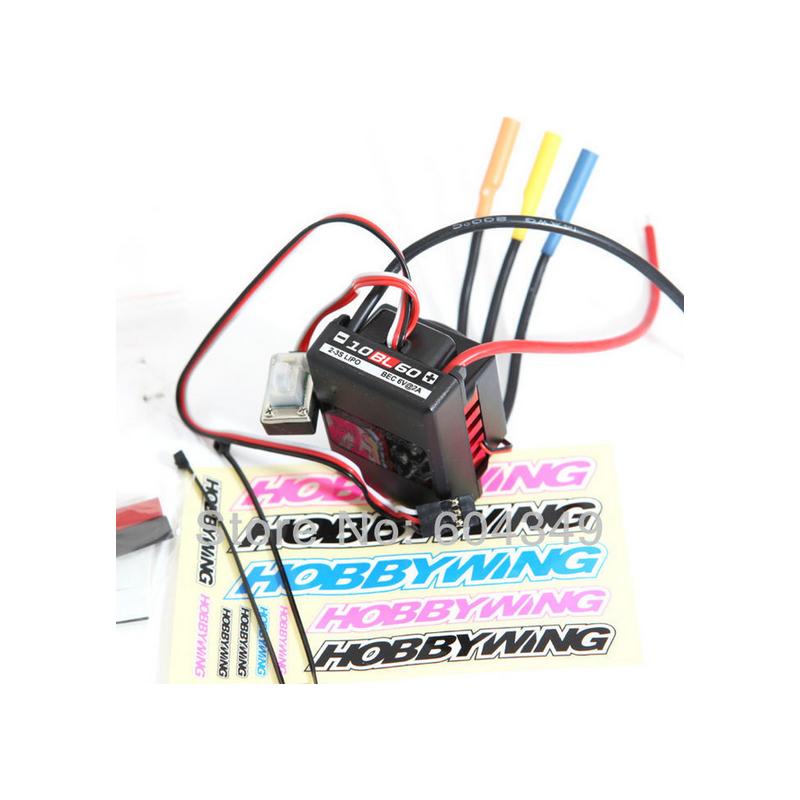 Hobbywing QuicRun-10BL60 60A-es szenzoros brushless autós szabályzó