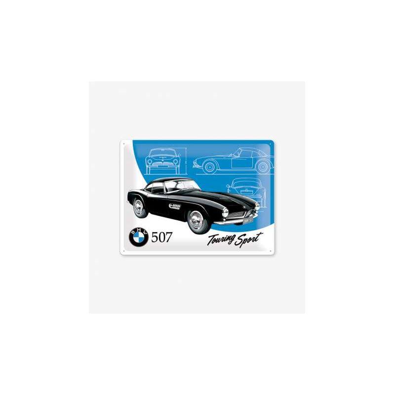 BMW fémtábla 507 Touring Sport 30x40