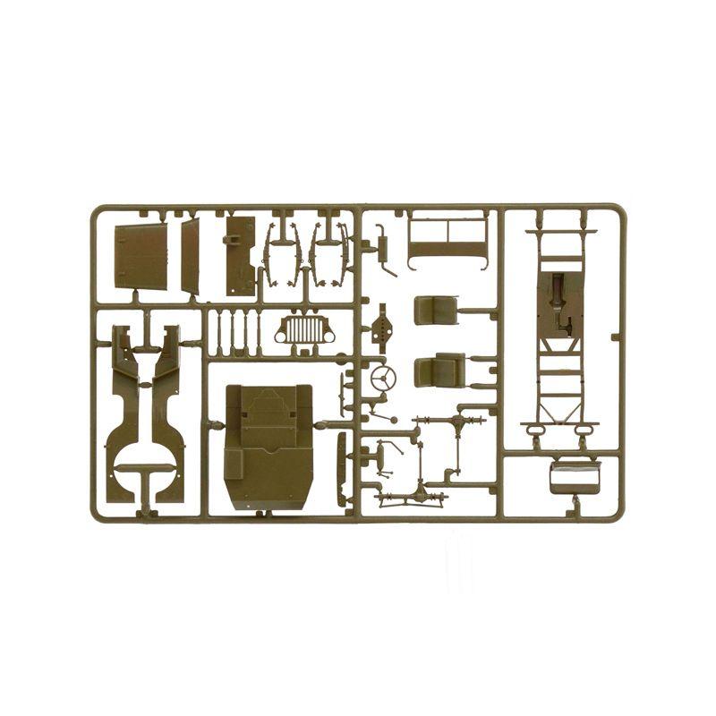 Italeri 326 1/4 TON. 4x4 AMBULANCE JEEP