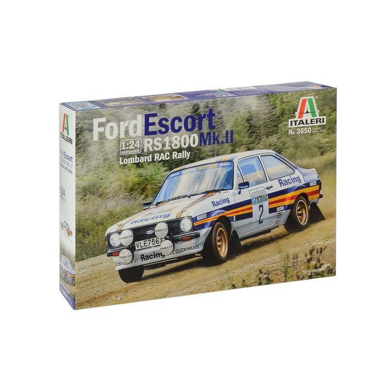 3650S ITALERI Ford Escort RS1800 1:24