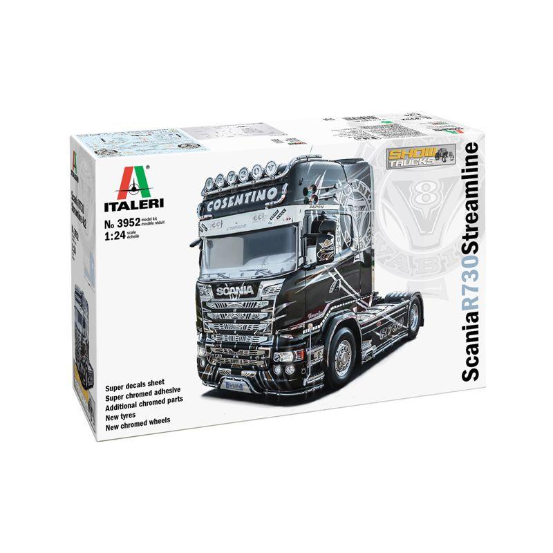 ITALERI 3952 Scania R730, Streamline 4x2