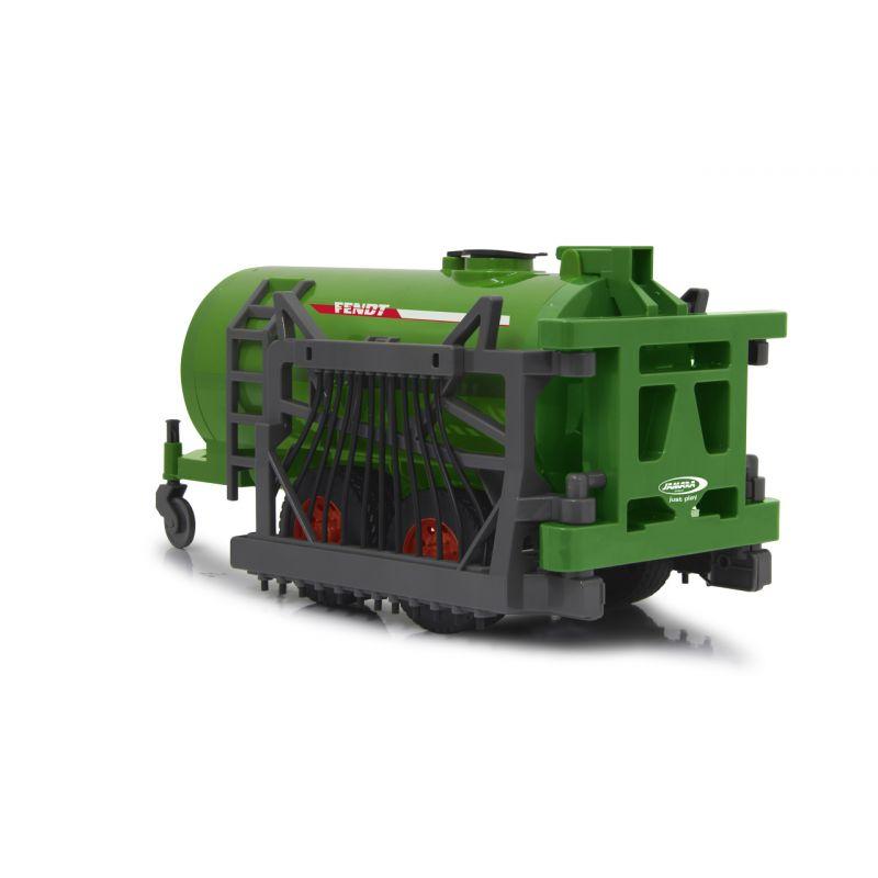 Tartálykocsi tömlőkkel Fendt/Lindner traktorhoz