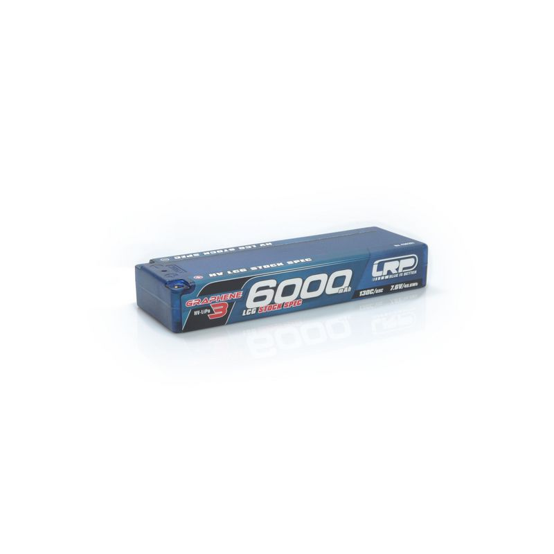 LRP Stock Spec HV 7.6 6000mAh LCG akku Graphen3