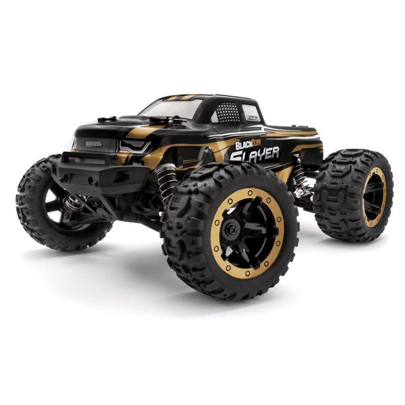 BLACKZON 540085 Slayer MT 1/16 4WD Electric Monster Truck - Gold