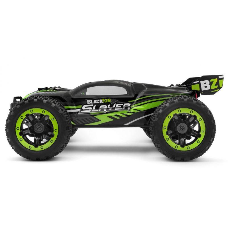 BLACKZON 540090 Slayer ST 1/16 4WD Electric Stadium Truck - Green