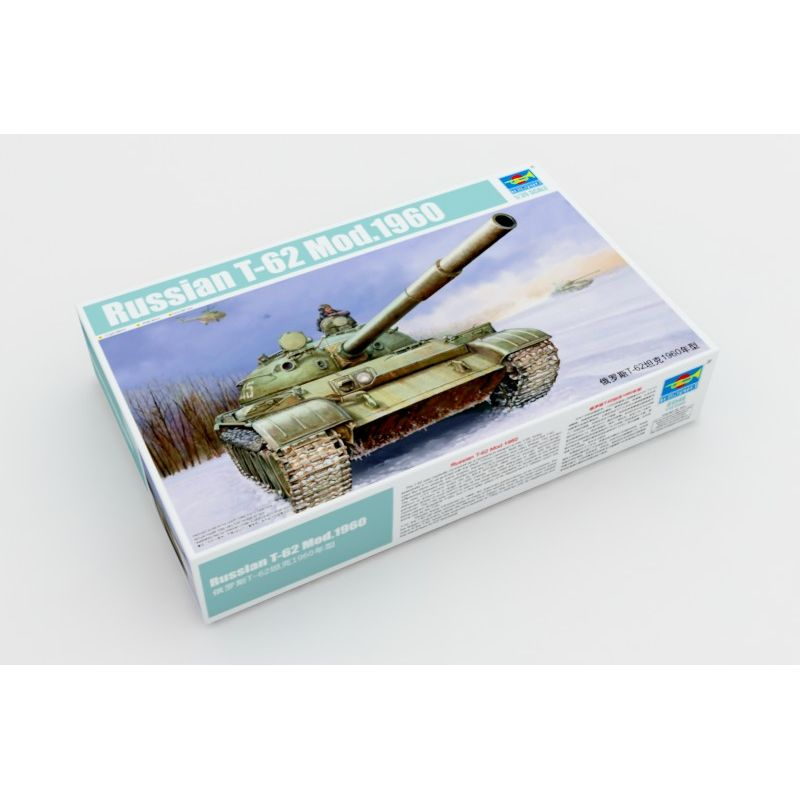 01546 Trumpeter Russian T-62 Mod.1960 1:35
