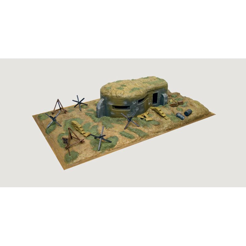 Italeri 6070 WWII-BUNKER AND ACCESSORIES