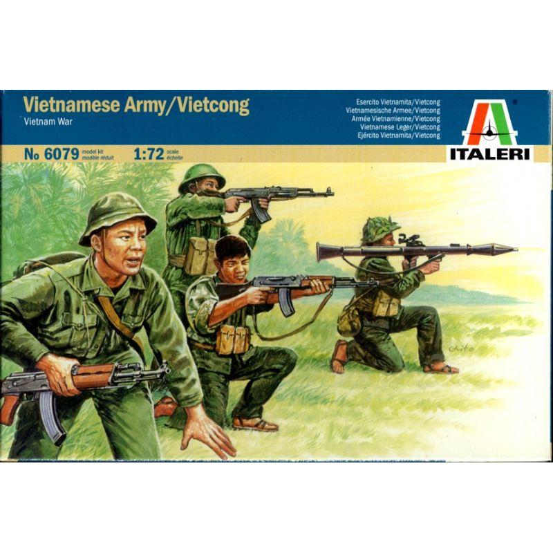 Italeri 6079 Vietnámi hadsereg / Vietkong