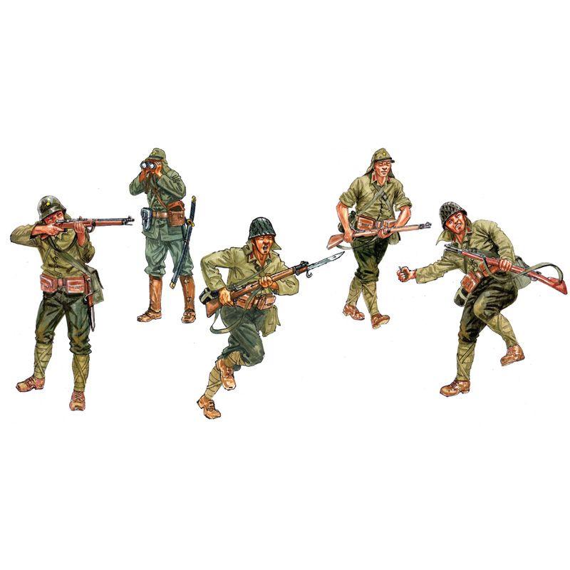 ITALERI 6170 Japanase Infantry