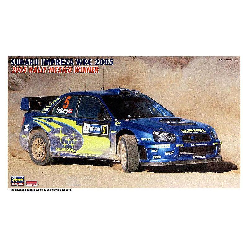 1/24 Subaru Impreza WRC 2005, Rally Mexico 2005