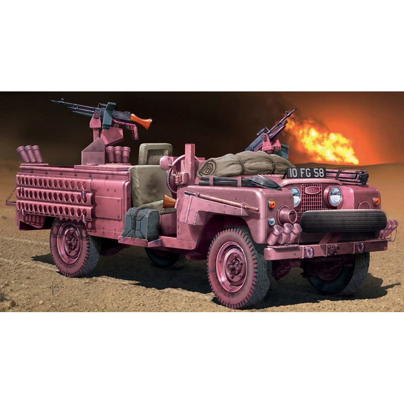 ITALERI 6501 S.A.S. RECON VEHICLE PINK PANT