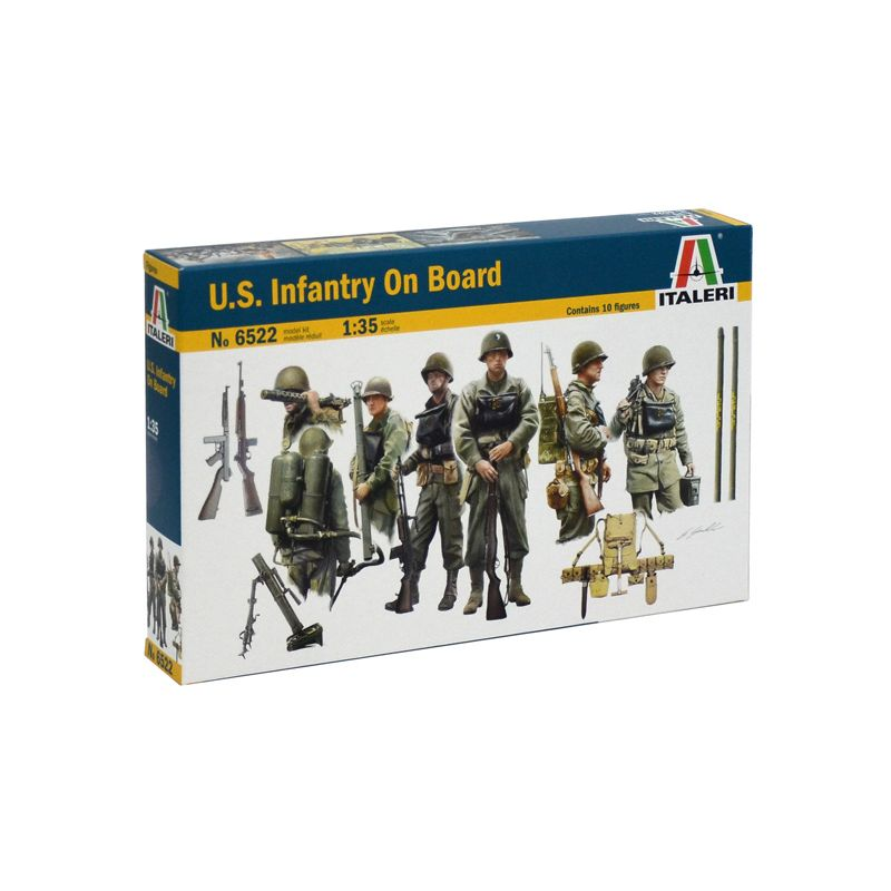 Italeri 6522 U.S. INFANTRY ON BOARD