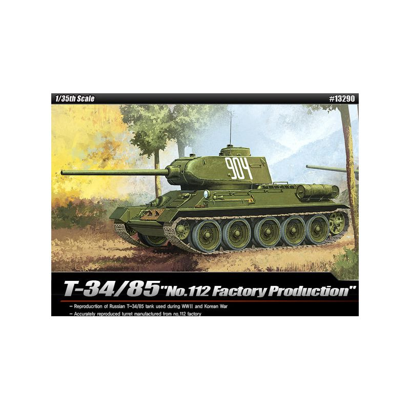 1/35 T-34/85 112 FACTORY PRODUCTION