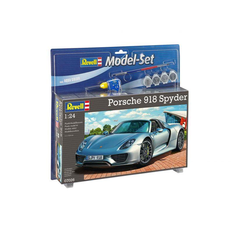 Revell 67026 Porsche 918 Spyder makett szett