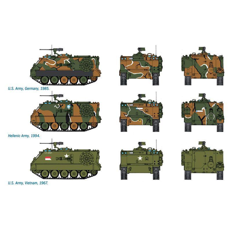 ITALERI 7069 M106 Mortar CarrierITALERI 7069 M106 Mortar Carrier