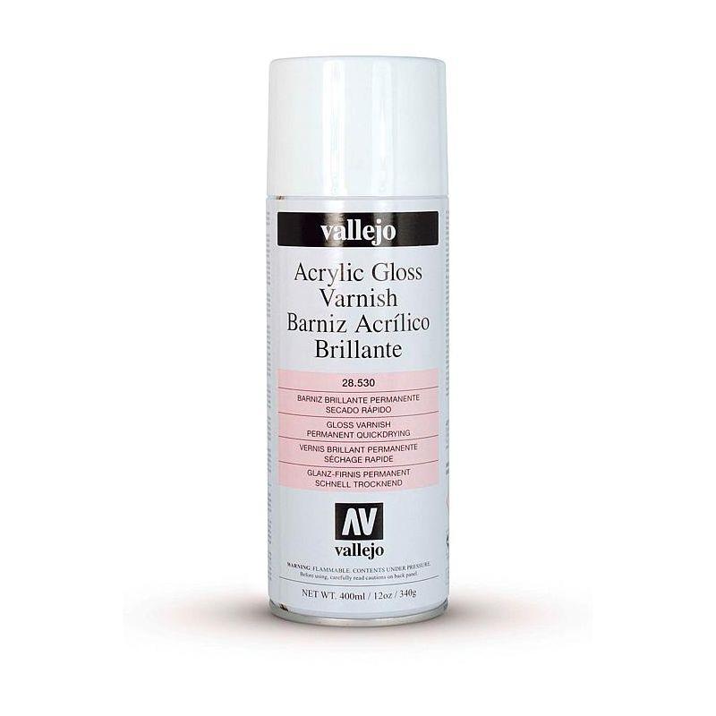 Vallejo 28530 Acryl fényes Lakk spray