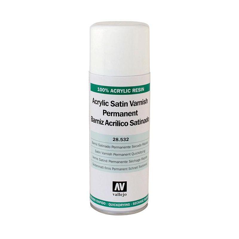 Vallejo 28532 Acryl lakk spray selyem fényű 400ml