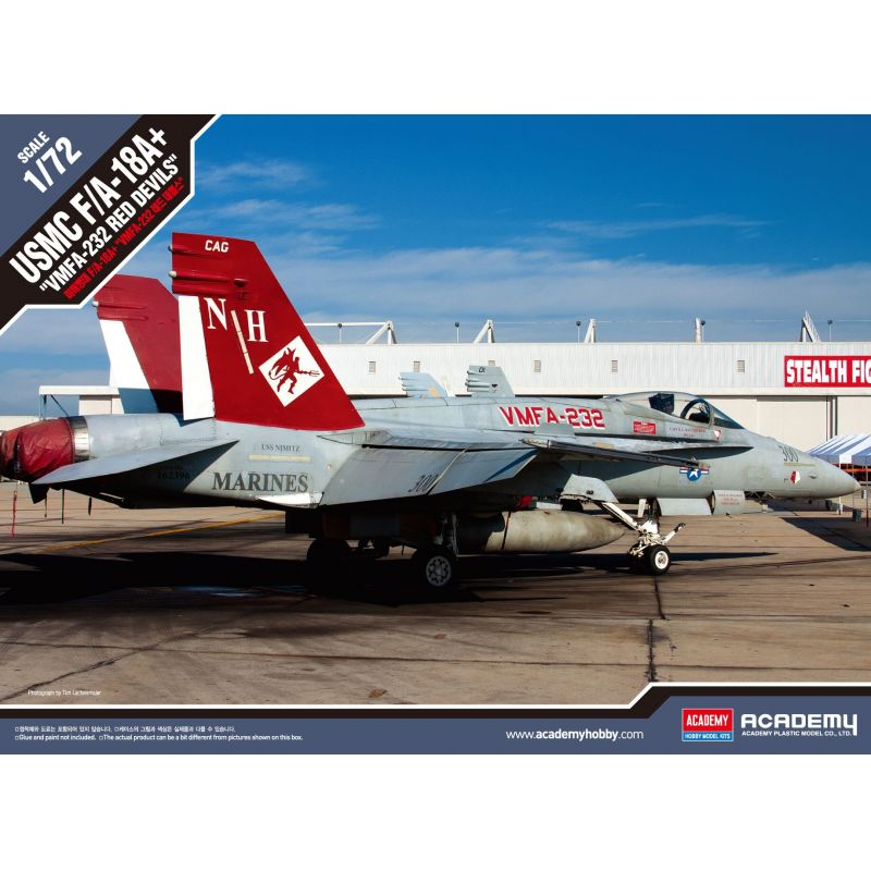 1/72 USMC F/A-18+ VMFA-232 RED DEVILS