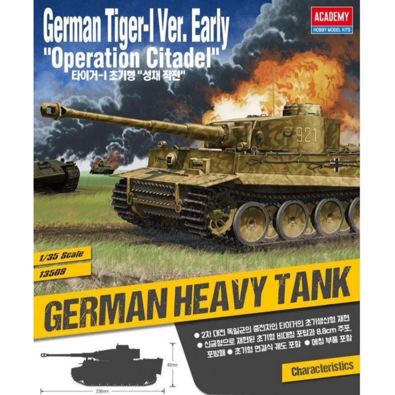 Academy German Tiger-I Early Operation Citadel