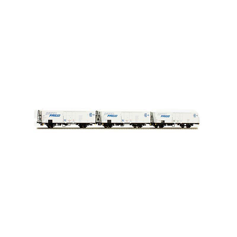 ACME 45047 Hűtőkocsi szett Ibbehps Interfrigo FS IV-V