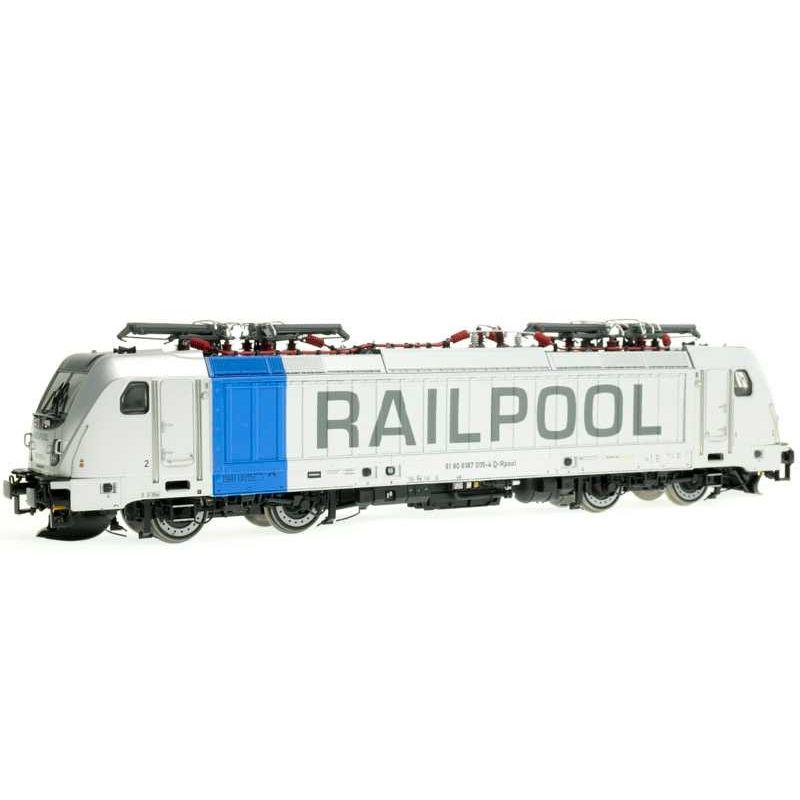 ACME 69462 Villanymozdony BR 187 005-4 TRAXX 3, Railpool VI, hangdekóderrel