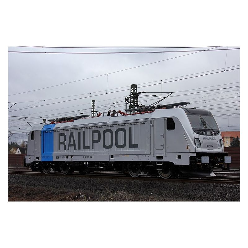 ACME 69462 Villanymozdony BR 187 005 Railpool VI hangdekóderrel