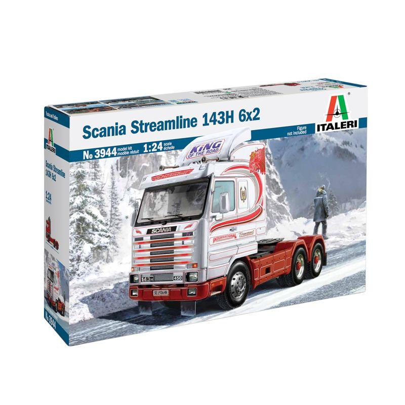 3944S ITALERI Scania Streamline 143H 6X2 1:24