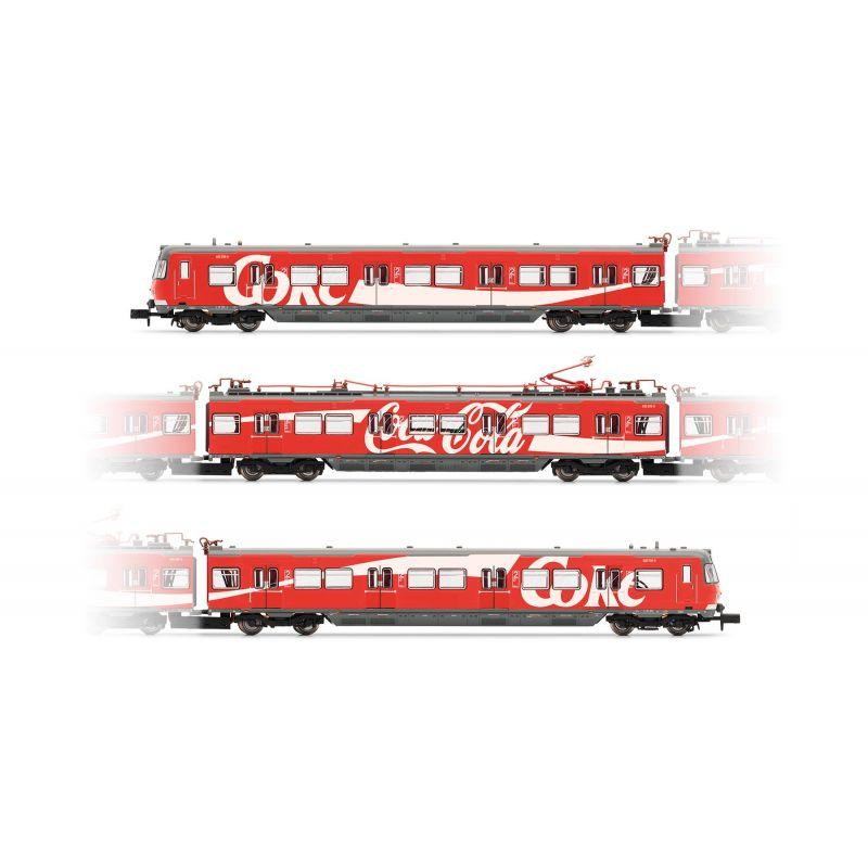 "Arnold HN2377 Electrical S-Bahn EMU, BR 420 DB AG, 420 239""Coca-Cola®"""