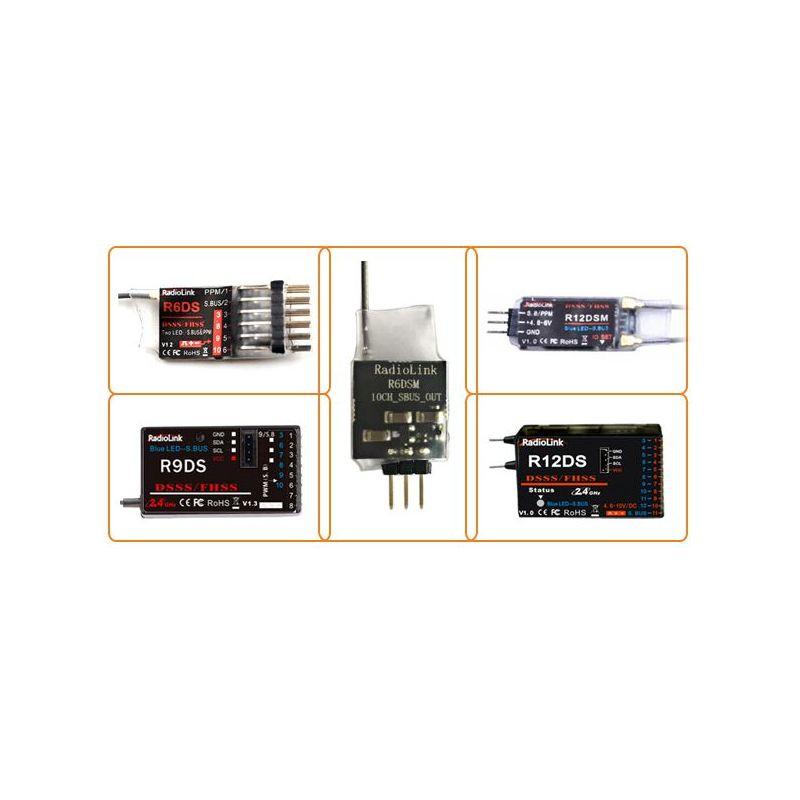 RadioLink AT9S+R9DS 2.4Gz távirányítő+vevő