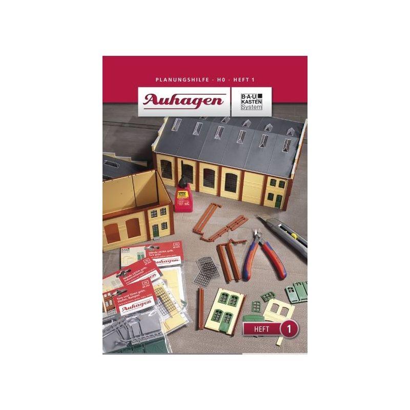 Auhagen 80001 Tervezési útmutató-1.szám. /Planungshilfe - Heft 1/