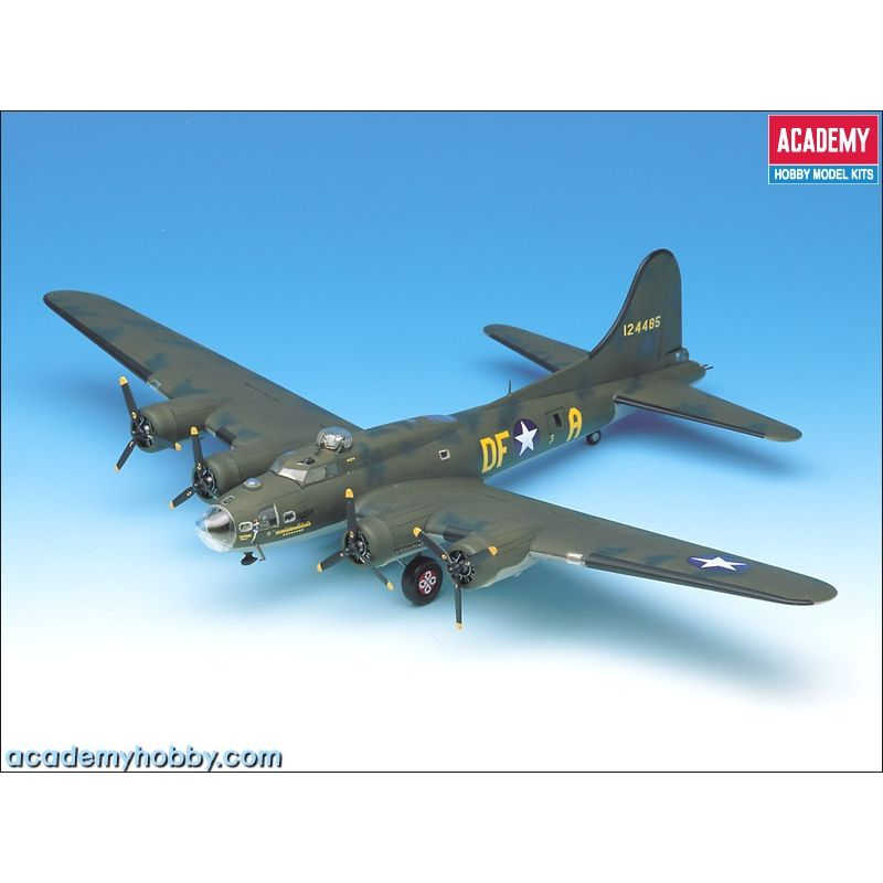 Academy 12495 B-17F MEMPHIS BELLE