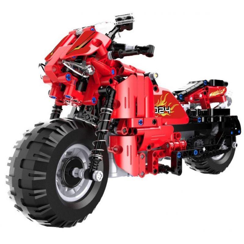 RC motorbike - building bricks RC
