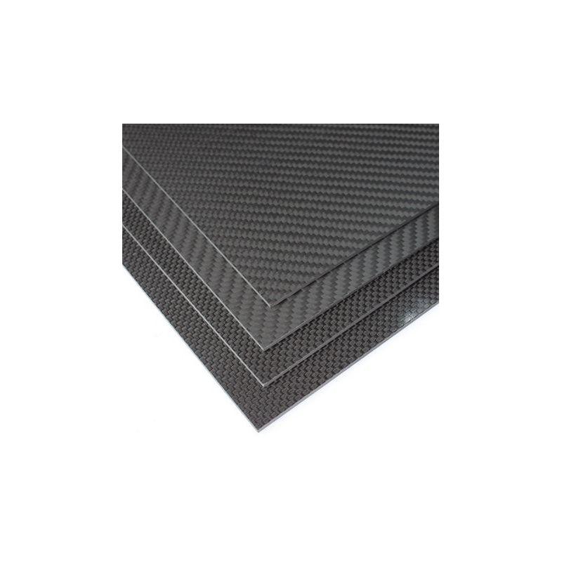 Karbonlap 2x200x300mm fekete