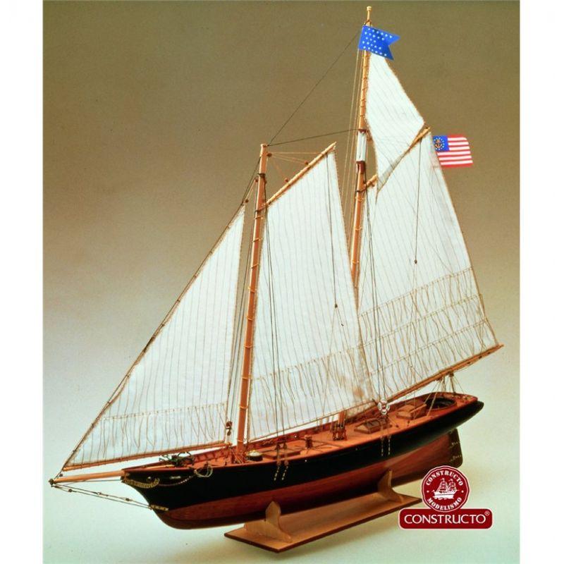Constructo 80827 América fa hajómakett