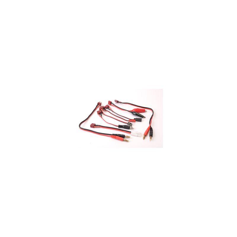 CR031 8 féle csatlakozós töltőkábel