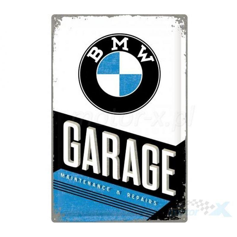BMW Garage fémtábla 30x40 cm