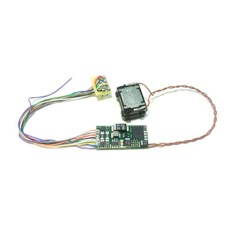 DIGISOUND2.1-GIGANT Hangdekóder hangszóróval MÁV V63 Gigant villanymozdonyhoz