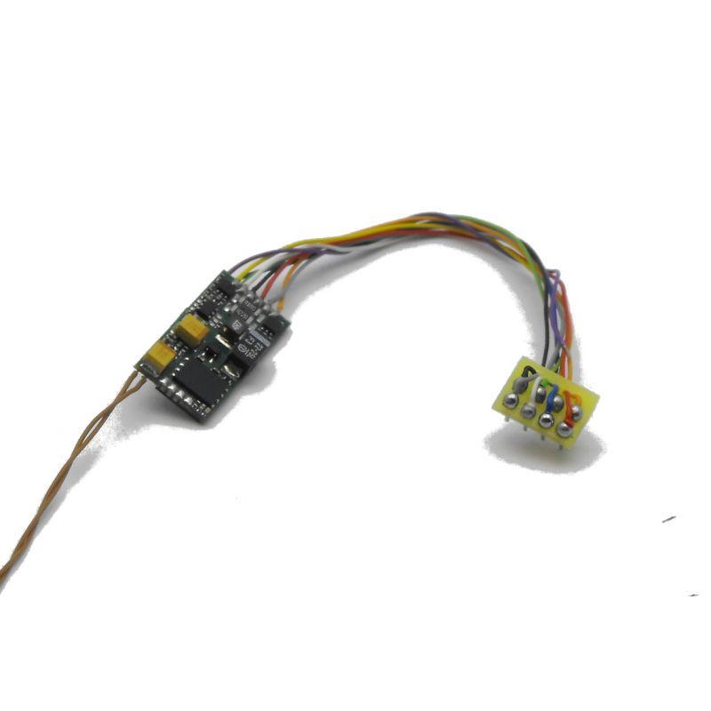 Hangdekóder hangszóróval MÁV 520sorozatúgőzmozdonyhoz