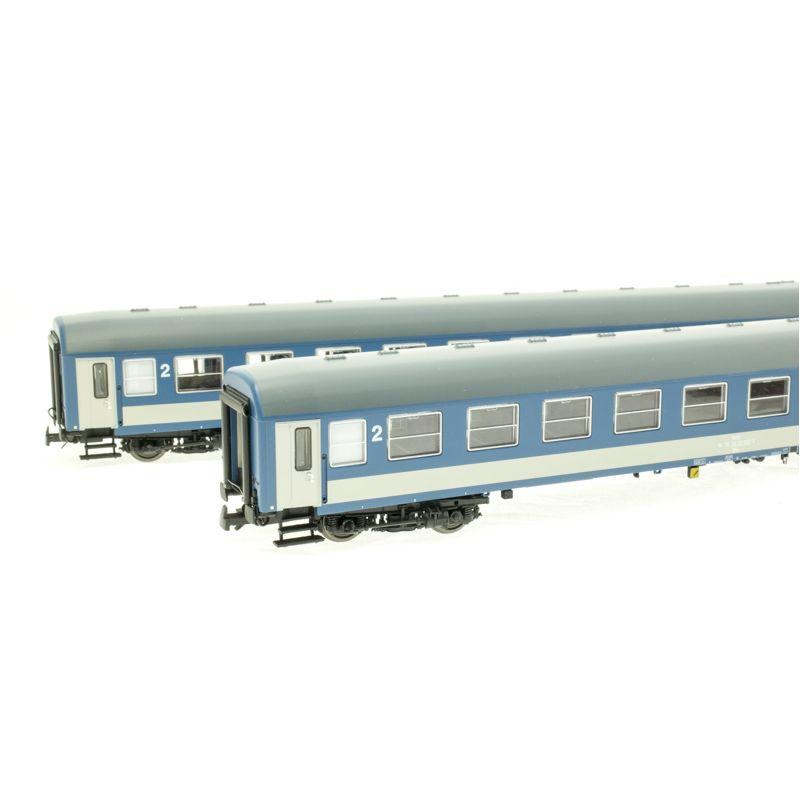 DOMMODELS 1410 Személykocsi szett InterCity, 2.o. Bko, Y, MÁV V