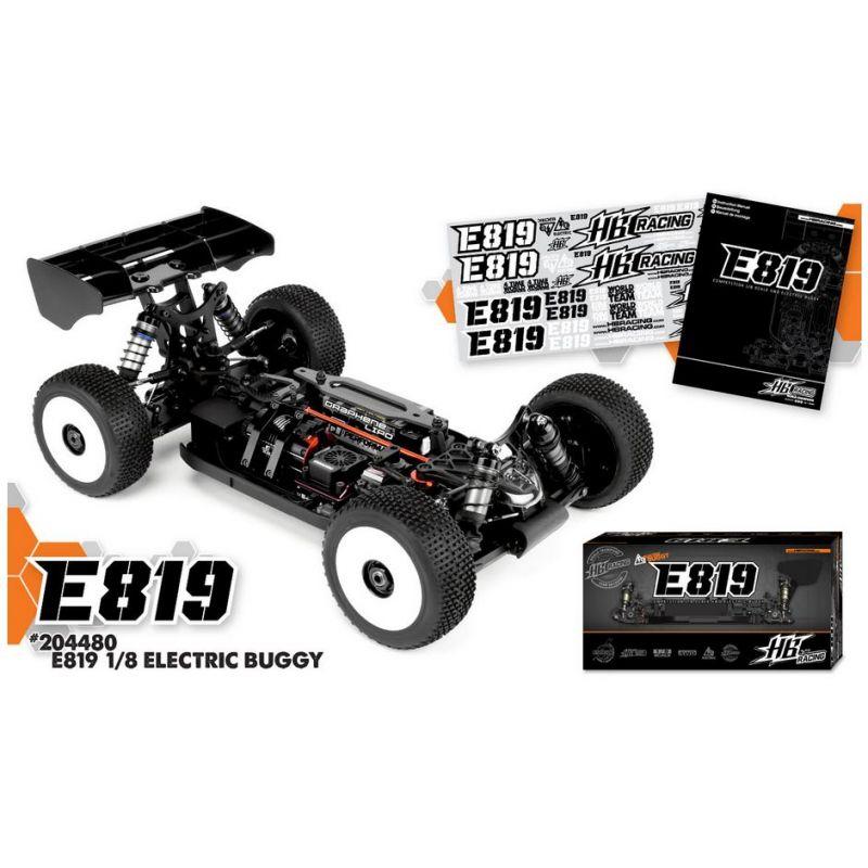 Hot Bodies E819 1/8 Competition Elektromos Buggy Kit modellautó