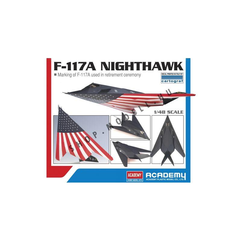Academy 12219 F-117A Nighthawk Last Flight