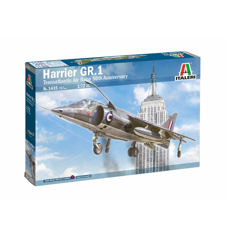 1435S ITALERI Hawker Harrier 1:72