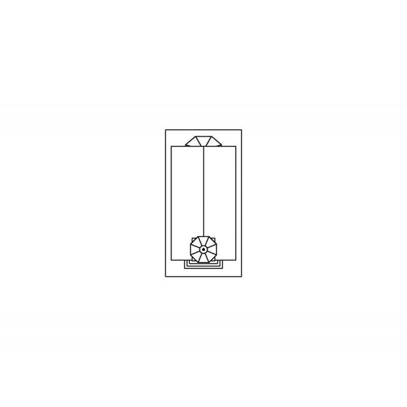 Piko 61825 Falusi templom alaprajz
