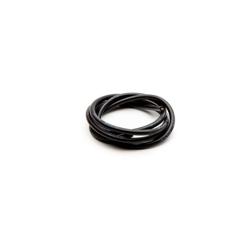 12-es AWG Kábel  1 méter FEKETE