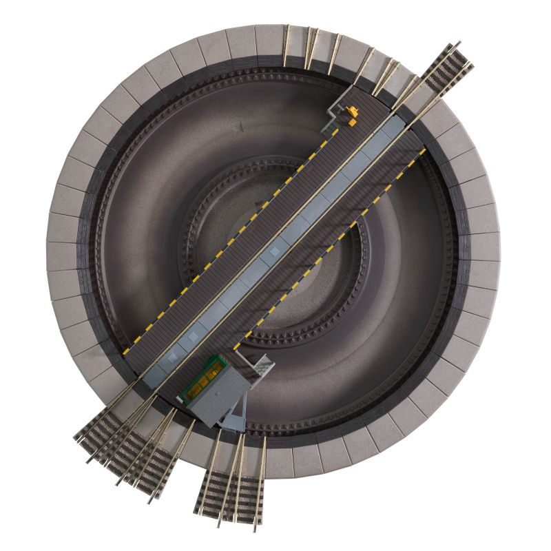 Fleischmann 6152 Forditokorong Elektromos 310 Mm Modulok Analog Digitalis Elektronikai Kiegeszitok Vasutmodell