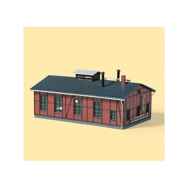 Auhagen 13233 Fűtőház, kétállásos