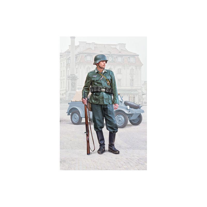 Italeri 7407 Német gyalogsági katona