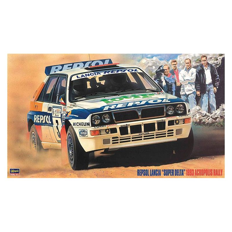 1/24 Lancia Super Selta Repsol Acropolis Rally
