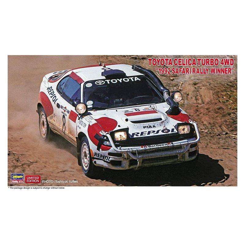 Hasegawa 20434 1/24 Toyota Celica Turbo 4WD, Safary Rally