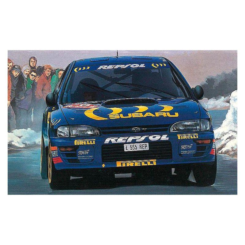 1/24 Subaru Impreza 94/95 Monte Carlo Rally